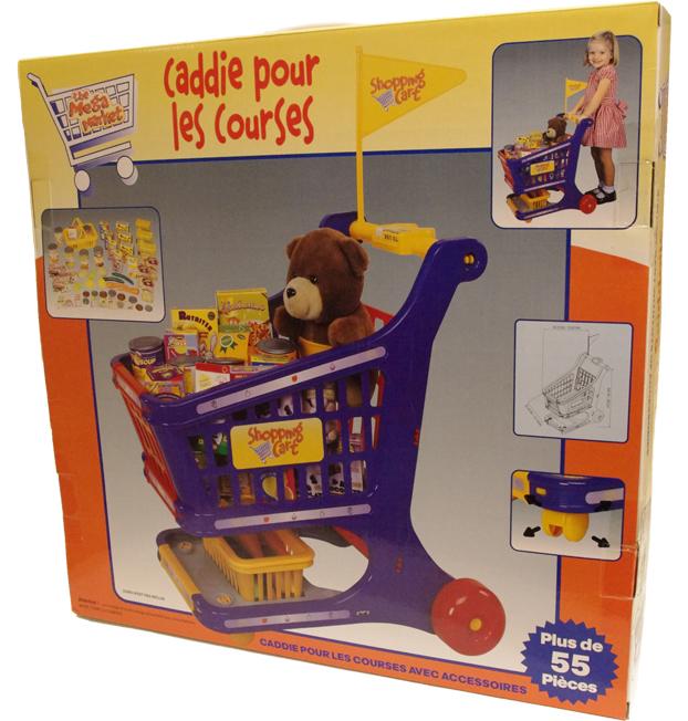 Koket For Barn : Shoppingvagn  kundvagn med tillbehor  Billiga leksaker online